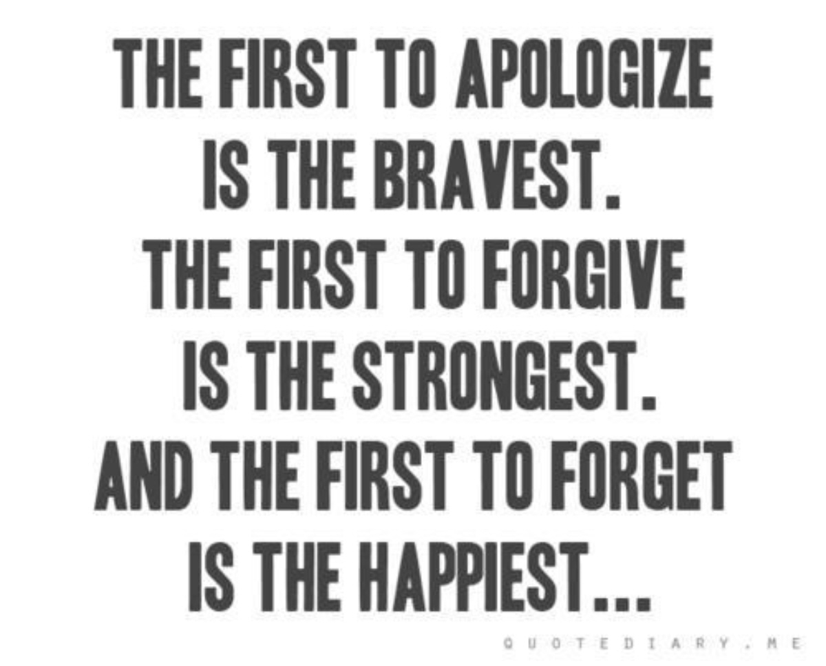 Forgive And Forget Quotes & Sayings