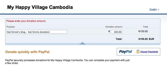 MHV donation